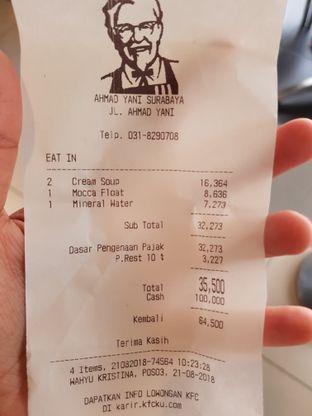 Foto 2 - Menu di KFC oleh Amrinayu