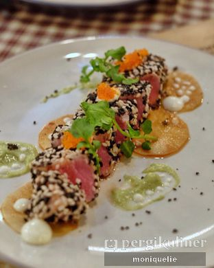Foto - Makanan(Tuna carpaccio) di Brassery oleh Monique @mooniquelie @foodinsnap
