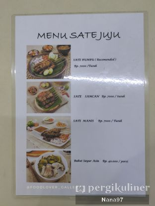 Foto review Sate Juju oleh Nana (IG: @foodlover_gallery)  5