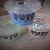 Foto taro, greentea, coklat di Puyo Silky Desserts