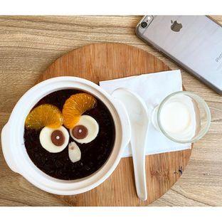 Foto 2 - Makanan(Owl Black Rice with Milk) di Milky Bean oleh Kevin Suryadi