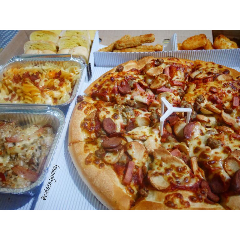 Big Box 🍕😋👌🏻 - Review Yummy Eats di restoran Pizza Hut Delivery (PHD), Kemanggisan