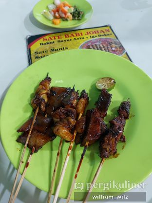 Foto review Sate Babi Johan oleh William Wilz 2