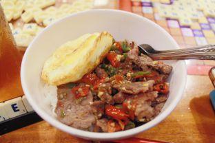 Foto 2 - Makanan(Nasi Wagyu Sambal Konslet) di Warunk UpNormal oleh Novita Purnamasari