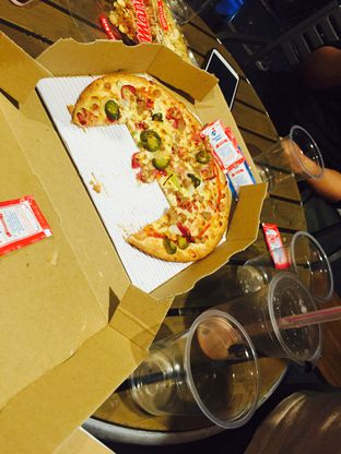Foto 3 - Makanan(American All Star Pizza) di Domino's Pizza oleh Yolla Fauzia Nuraini