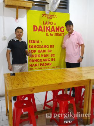 Foto 7 - Interior di Babi Panggang Lapo Dainang br. Sirait oleh Tirta Lie