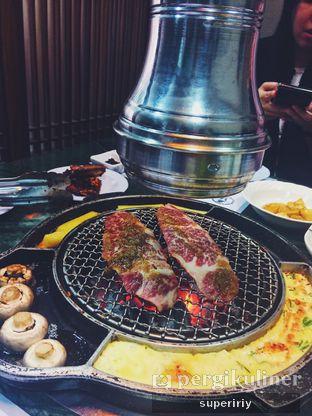 Foto 1 - Makanan(wagyu yang nyum gal bi sal) di Baik Su Korean Restaurant oleh @supeririy