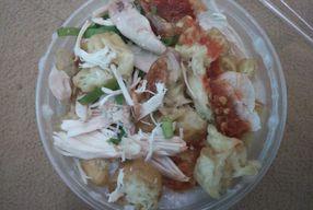 Foto Bubur Ayam Serbu Rame