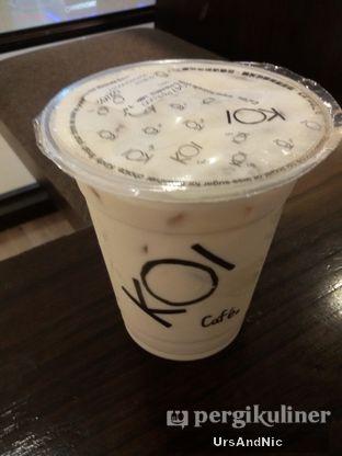 Foto 2 - Makanan(Hazelnut milk tea) di KOI Cafe oleh UrsAndNic