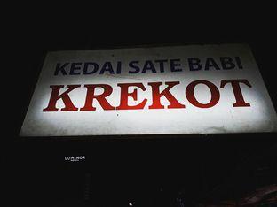 Foto review Kedai Sate Babi Krekot oleh nita febriani 3