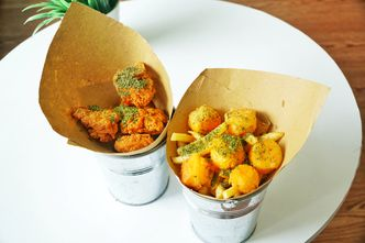 Foto Makanan di Sudut Pandang Kopi