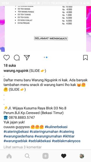 Foto review Warung Ngupink oleh Sella Wanda 4