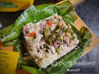 Foto Makanan di Sego Daun
