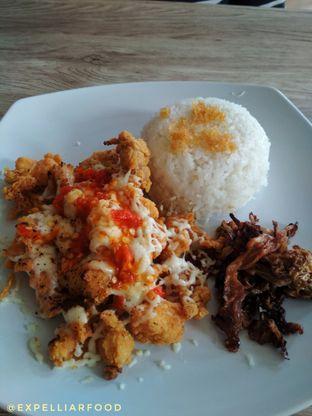 Foto 6 - Makanan(Chicken popcorn mozarella) di Ayam Bang Dava oleh Tristo