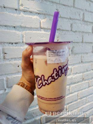 Foto - Makanan(Strawberry Milk Tea) di Chatime oleh Muthia US