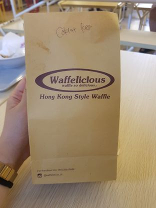 Foto review Waffelicious oleh Yuli || IG: @franzeskayuli 2