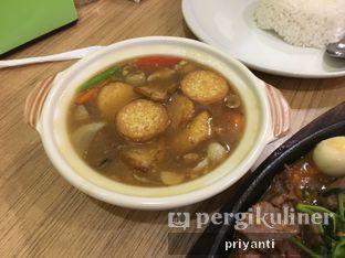 Foto 1 - Makanan(Sapo Tahu Jepang) di Bakso Lapangan Tembak Senayan oleh Priyanti  Sari