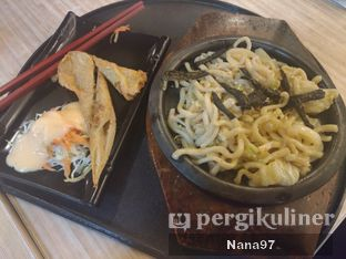 Foto 3 - Makanan(Cheesy fishroll yaki udon hotplate) di Gokana oleh Nana (IG: @foodlover_gallery)