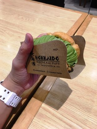 Foto 6 - Makanan di Hokkaido Icecream Puff oleh Prido ZH