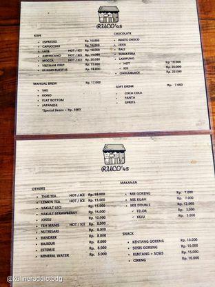 Foto 4 - Menu di Ruco 45 oleh doyan kopi