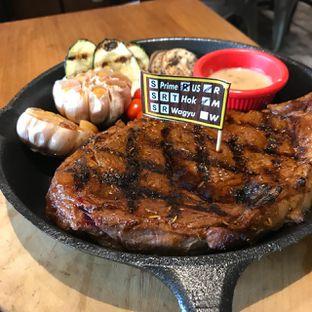Foto 4 - Makanan(Rib Eye Sous Vide USDA Black Angus 500 gr) di Pepperloin oleh Pengembara Rasa