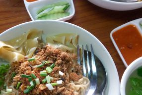 Foto Pangsit Mie Ayam Simpang Super