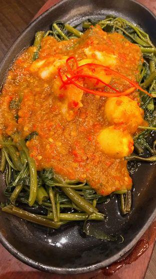 Foto 6 - Makanan(KANGKUNG BALACHAN PLATE (65k)) di Seribu Rasa oleh Riris Hilda