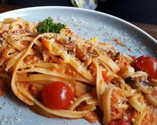 Foto 2 - Makanan(Fettucine ala valentini) di Canabeans oleh Claudia @claudisfoodjournal