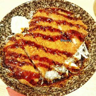 Foto 13 - Makanan(Chicken cutlet teriyaki donburi) di Kappa Sushi oleh duocicip