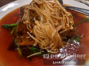 Foto 1 - Makanan(Tahu siram jamur enoki) di Sanur Mangga Dua oleh LenkaFoodies (Lenny Kartika)
