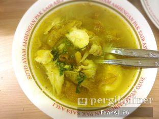 Foto 1 - Makanan di Soto Ayam Ambengan Pak Sadi (ASLI) oleh Fransiscus