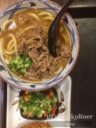 Foto 1 - Makanan(BEFF CURRY UDON) di Marugame Udon oleh #alongnyampah