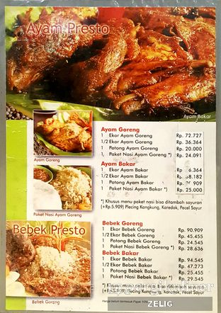Foto 1 - Menu di Ayam Presto Ny. Nita oleh @teddyzelig