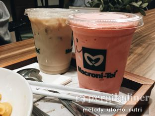 Foto 2 - Makanan(Strawberry smoothie) di Macroni Tei Coffee oleh Melody Utomo Putri