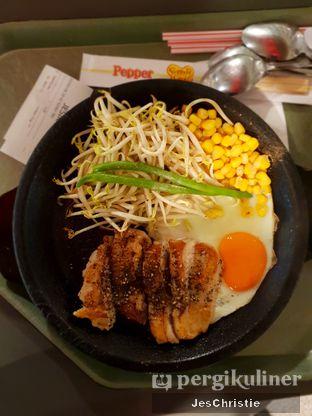 Foto 1 - Makanan(Teriyaki Pepper Chicken) di Pepper Lunch Express oleh JC Wen