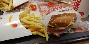 Foto review Burger King oleh achmad yusuf 2