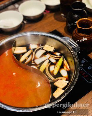 Foto 2 - Makanan(spicy miso (left); yakiniku (right)) di Momo Paradise oleh Sienna Paramitha