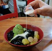 Foto Grass Jelly 25 IDR 48 K di Hong Tang