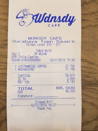 Foto 3 - Menu di Wdnsdy Cafe oleh Amrinayu