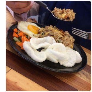 Foto 4 - Makanan(Roa Fried Rice) di OFF Koffee.Kaya oleh lanisyah