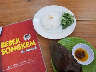 Foto 1 - Makanan di Bebek Songkem H. Ahmad oleh Amrinayu