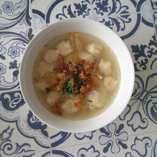 Foto 2 - Makanan(tekwan) di Pempek Nyai oleh Andin | @meandfood_