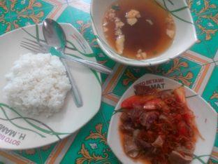 Foto - Makanan di Soto Betawi H. Mamat oleh Edward Kurnia