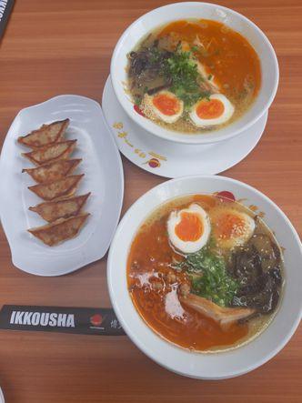Foto Makanan di Hakata Ikkousha