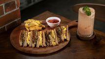 Sandwich Tempe Orek, menu rekomendasi di Kolonial Bistro & Roastery