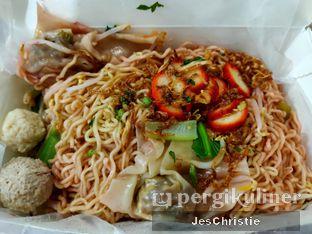 Foto 2 - Makanan(Bakmie Garing Chasio Komplit) di Vegetarian Bakmie Garing H-P (Hot Pedas) oleh JC Wen