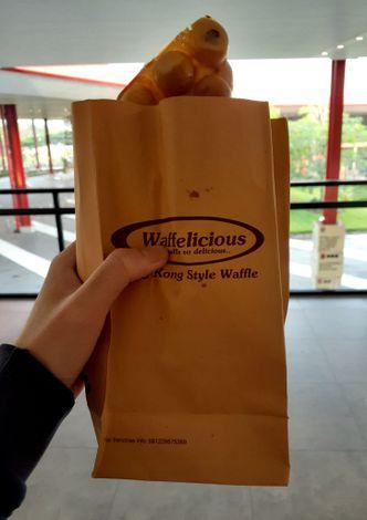 Foto Makanan di Waffelicious
