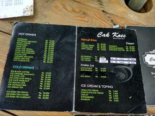 Foto 2 - Menu di Cak Koes Resto & Coffee Shop oleh Kartika Sari