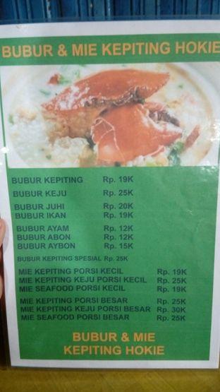 Foto review Bubur Dan Bakmie Kepiting Hokie oleh Edward Kurnia 3
