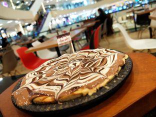 Foto - Makanan(Ini menu baru guys namanya chocola chocolate cookies rasanya enak banget dengan Belgian chocolate and desain yg sangat menarik sekali.chocolate yang pas di hati) di Chocola Cafe oleh ماريا Aini
